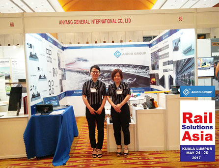 Great Benefits from Rail Solutions Asia 2017