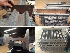 Various Types of AREMA Standard Railway Joint Bars from AGICO Rail Are Hot Sale