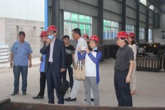 Customers from Korea visit AGICO for rail clips