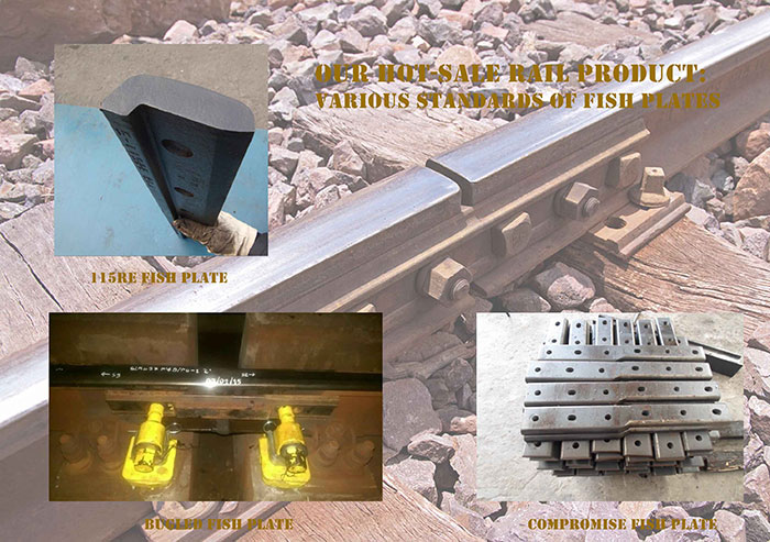 Our Hot-sale Rail Product: Various Standards of Fish Plates