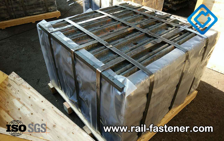 3000PCS Glued Insulated Rail Joint for USA customer