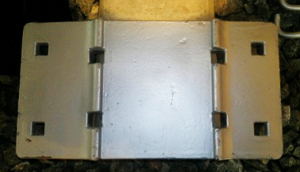 high carbon steel tie plate