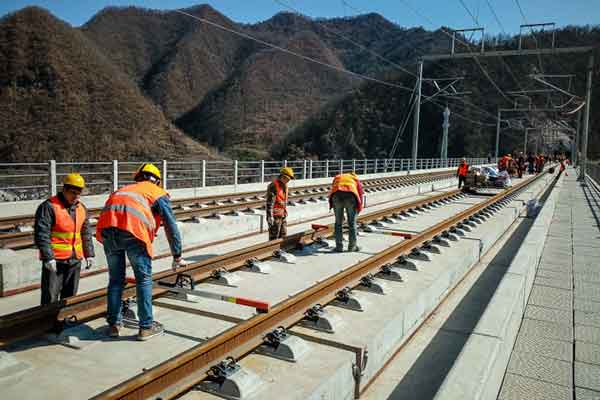 high-speed railroad construction