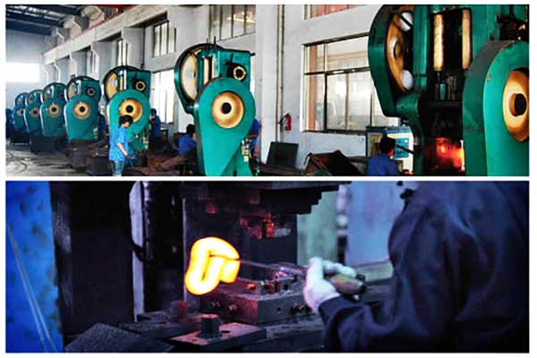 new casting production line for rail fasteners