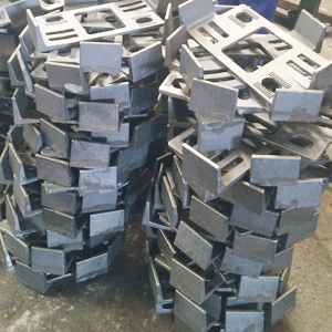 packing of tie plate