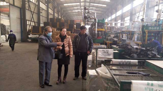 Pakistan customer visits AGICO factory