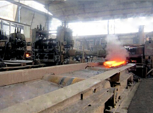 process of producing rail joints