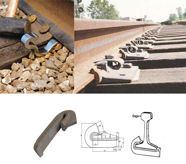 rail anchors for rail fastening