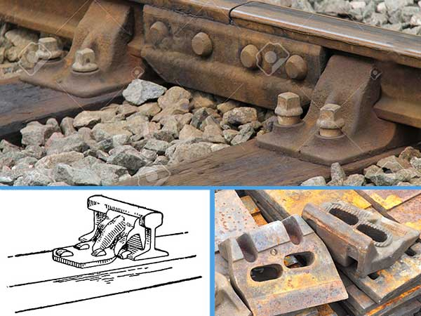 rail brace for railroad
