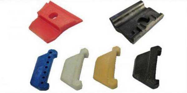 rail insulators for Nabla clip fastening system