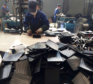 rail pad production process
