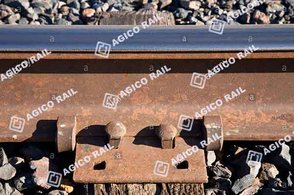 rail tie plates in railway system