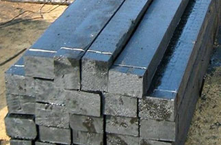 Anti-corrosion treatment wooden sleepers