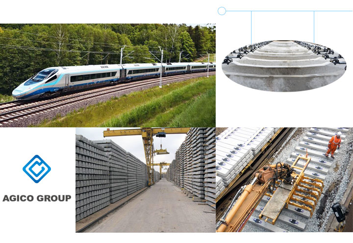 Types and Advantages of Concrete Sleeper | AGICO RAIL