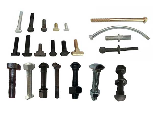 various types of railway track bolts for sale