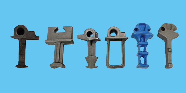 cast iron rail shoulders for railway fastening products