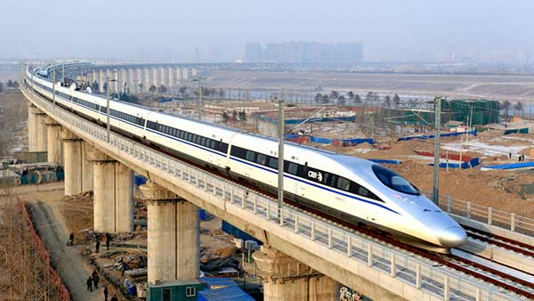 high speed railway transportation for passengers